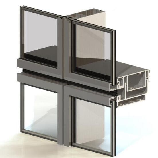 unitized curtain wall