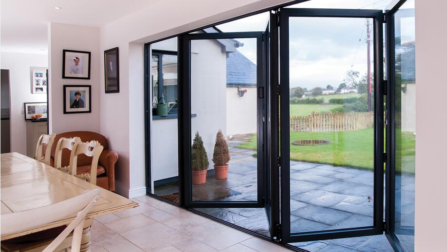 Bifold Doors Internal Accordion Aoland Aluminium Amp Glass