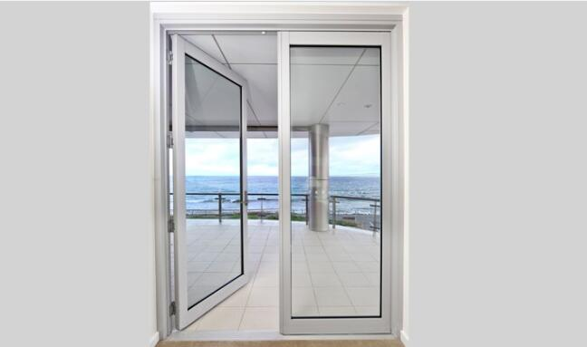 Australia aluminium french glass entrance doors| Aoland -China
